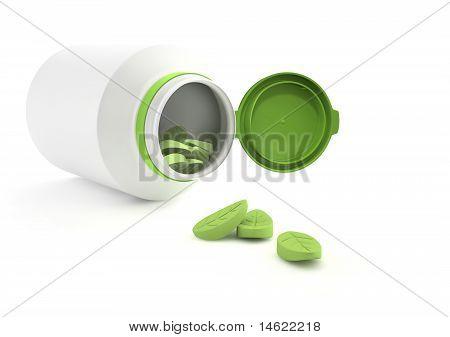 Herbal vitamins.