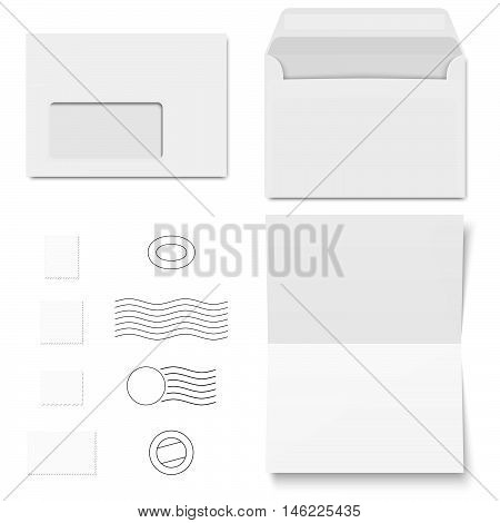 Envelopes And Postage Stamps