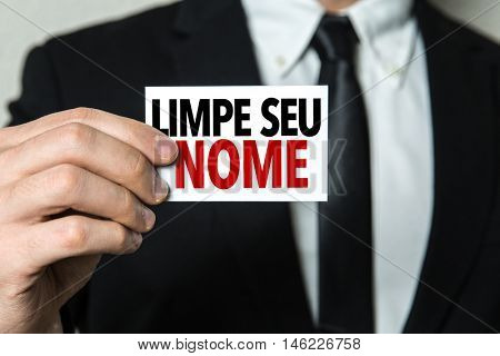 Fix Your Credit (in Portuguese)