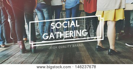 Social Gathering Community Society Unity Group Concept