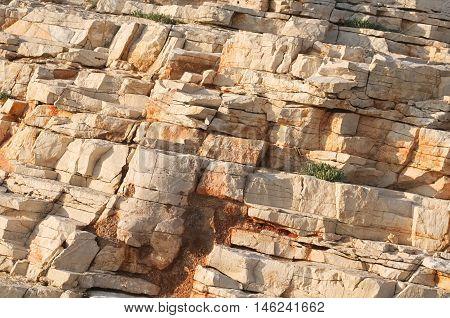 Brown Sedimentary Rocks
