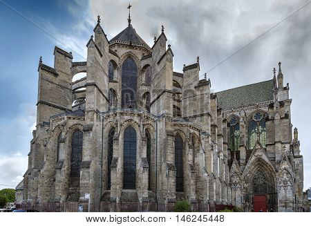 Soissons Cathedral Basilica is a Gothic cathedral in Soissons France. Apse