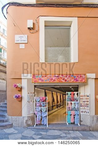 Flowery Fashion Store Front