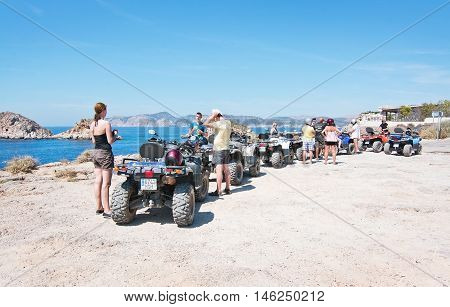 Group On Quad Tour