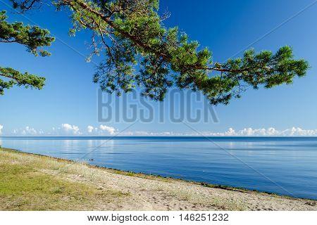 Sandy beach in Jurmala - famous International Baltic resort, Latvia, Europe