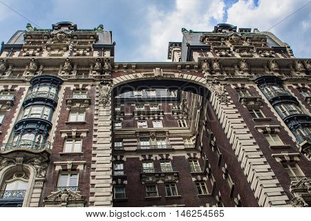 Building In Upper West Side In New York