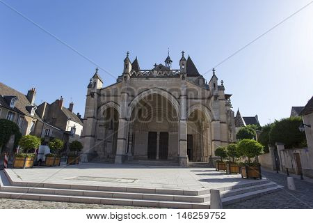 Basilica Notre Dame In Beaune - France