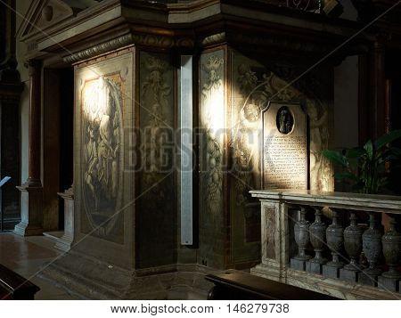 Sanctuary Of Santa Maria Della Steccata Of Parma, In Emilia-romagna. Italy.