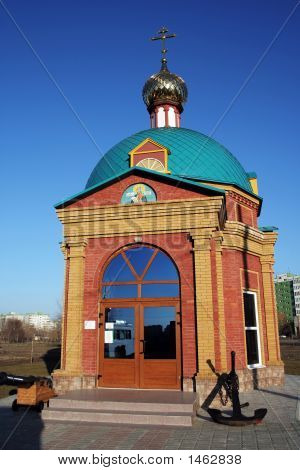 Church of Feodor Ushakov. Russia Rostov region poster