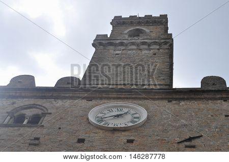 Piazza Dei Priori In Volterra