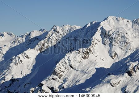 Mt Guinevere Viewed From Avalanche Peak.  Arthurs Pass, Southern Alps, Canterbury, New Zealand