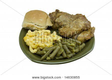 fried porkchop dinner gr