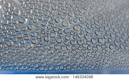Drops Of Water For Background