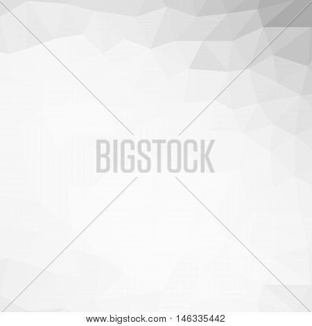 Colorful polygon background or vector frame. Abstract Triangle Geometrical Background, Vector Illustration. Geometric design for business presentations.