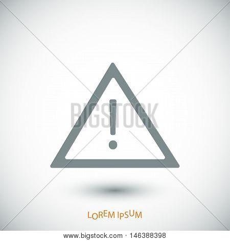 Warning Roadsign Icon
