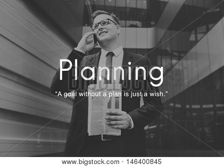 Planning Strategy Vision Plan Operations Process Concept