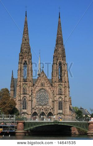 immemorial church in Strasbourg