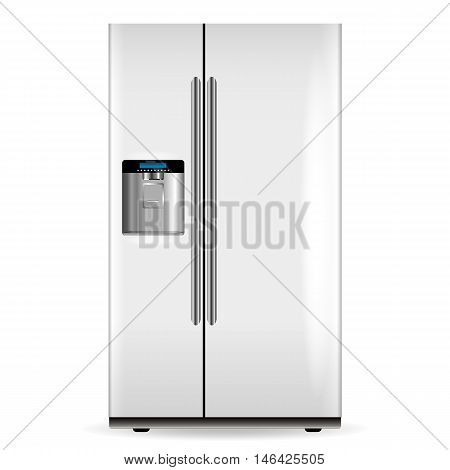 Vector White Fridge