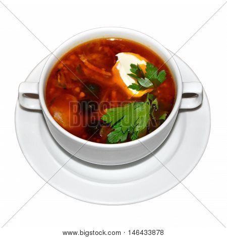 Russian Soup Solyanka