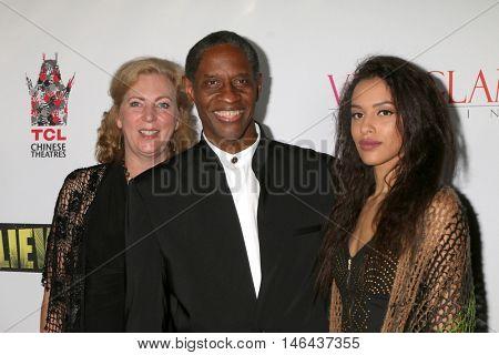 LOS ANGELES - SEP 7:  Deborah Hartwell, Tim Russ, Madison Russ at the