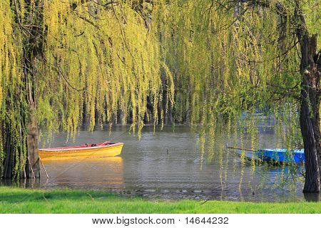 River in Pancevo Serbia