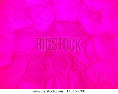 Bright Pink Fabric Background