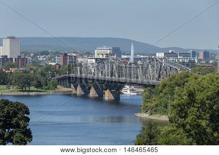 September 7, 2016 - Ottawa, Ontario - Canada - Canada's capital city of Ottawa