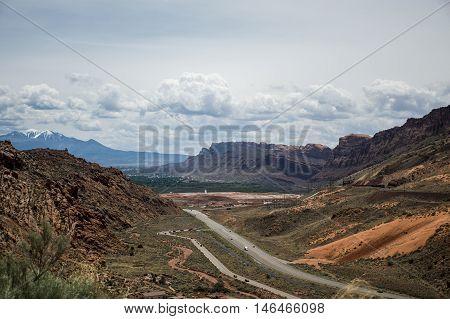 Moab Utah Arches National Parc Sand Rocks view