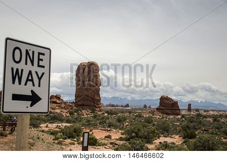 Moab Utah Arches National Parc Sand Rocks 4