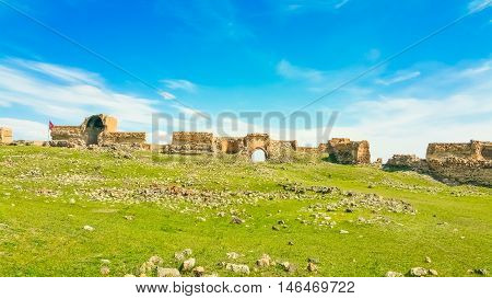 Ruins of the ancient city of Ani City of 1001 Churches Turkey