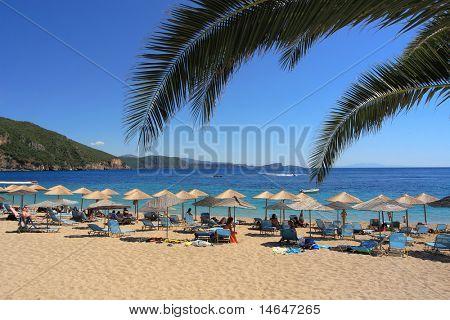 Lichnos beach in Parga Greece