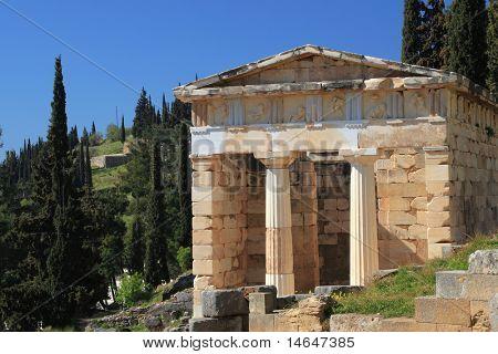 Delphi Greece archeological site