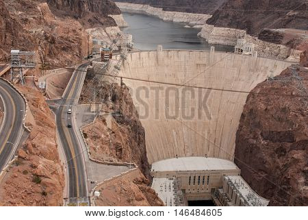 Hoover Dam USA the most advanced water plan technolgy