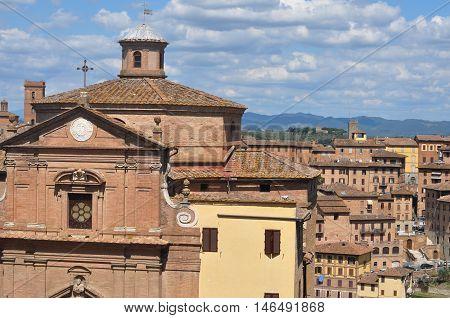 San Giuseppe Onda Church In Siena