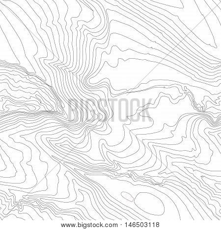 Topographic map background concept with space for your copy. Topography lines art contour , mountain hiking trail , Shape vector design. Computer generated .