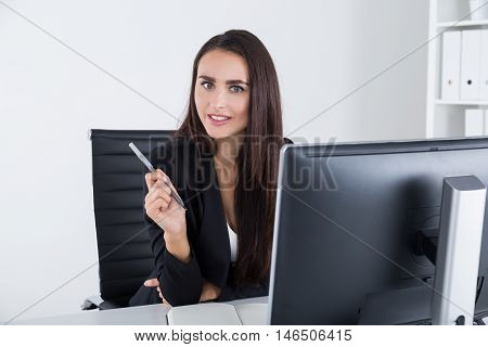 Mysterious Businesswoman