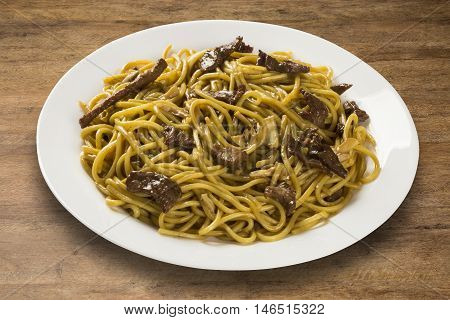Stir-fried noodles Chow mein , Chinese cuisine