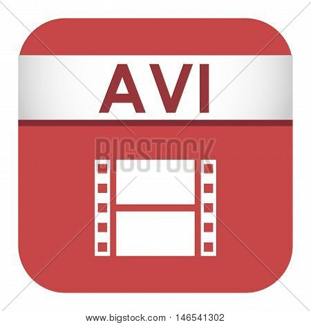 Simple vector square file type and format label icon. File type format icon symbol. Some file extension file type icon graphic sign application software