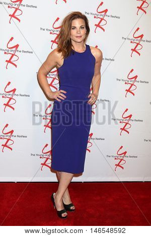 LOS ANGELES - SEP 8:  Gina Tognoni at the Young and The Resltless 11,000 Show Celebration at the CBS Television City on September 8, 2016 in Los Angeles, CA