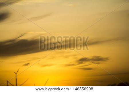 Cloudy in the sky evening, sky background