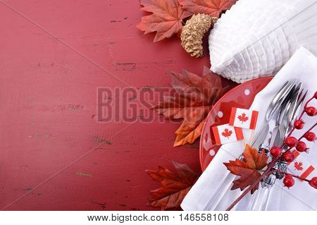 Red And White Theme Thanksgiving Background.