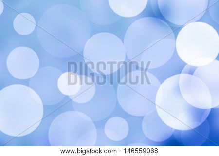 abstract Background bokeh or blurred blue colors.