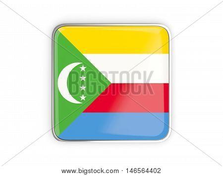 Flag Of Comoros, Square Icon