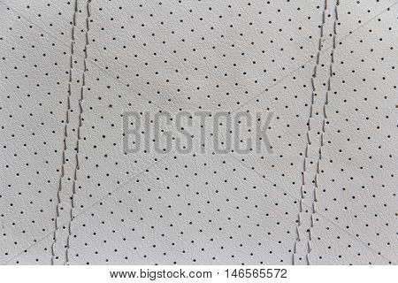 car leather seat and wall texture background