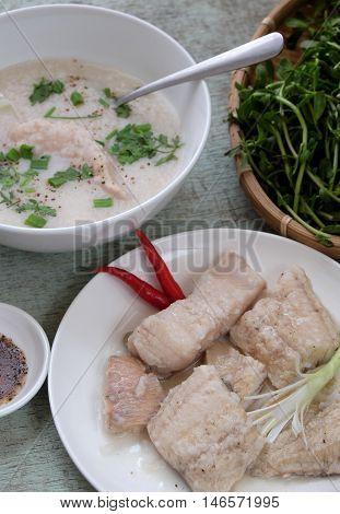 Vietnamese Food, Fish Soup