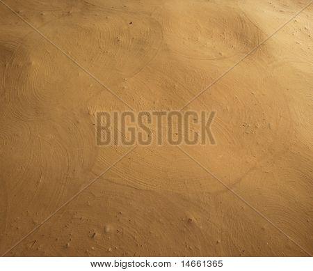 Sand floor texture