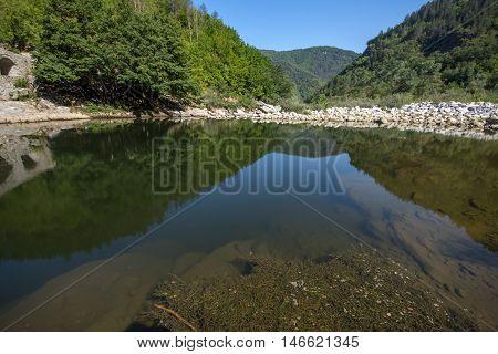 Arda river and Rhodopes mountain, Kardzhali Region, Bulgaria
