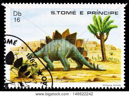 Sao Tome E Principe - Circa 1982