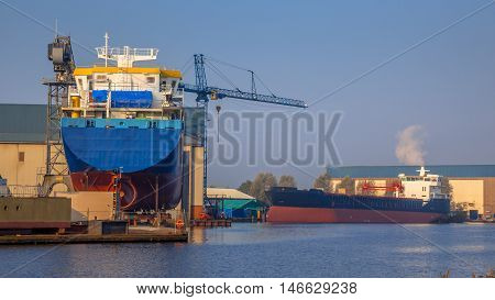 Ship Construction Site