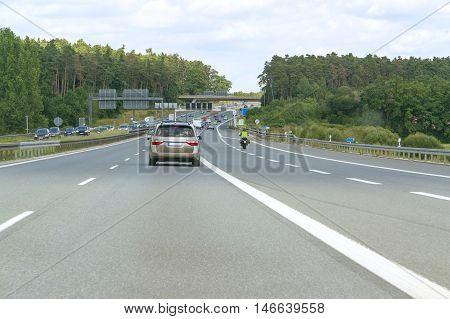 German Highway Scenery